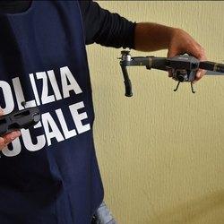 Il drone posto sotto sequestro