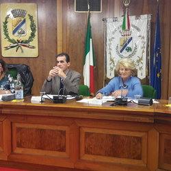 I relatori dell'incontro pubblico