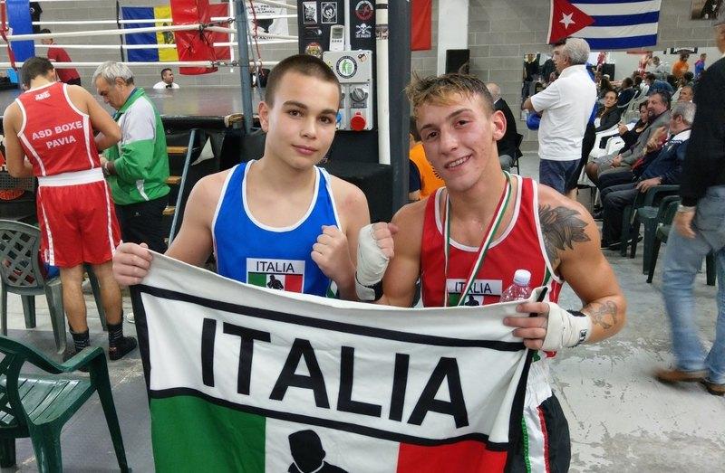 Daniel Buscarino e Brian Abbattangelo