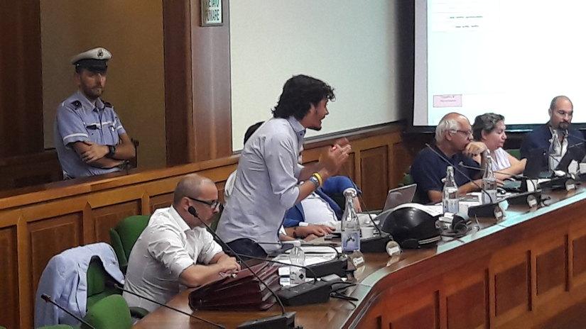 Luca Zambon in Consiglio Comunale