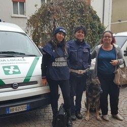 Diana Bertona, (Nogez Lombardia), Antonella Cirlincione (Polizia Locale), Xeno e Rosalba Capitano (Uda Peschiera)