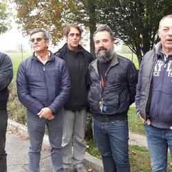 La delegazione dei residenti di Canzo