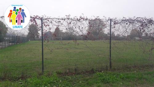 Il Campo sportivo di Linate