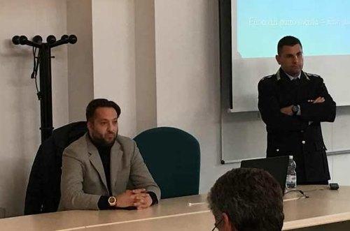 Giovanni Dongiovanni (a dx) insieme a Daniele Castelgrande