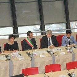 Al centro il Ministro Poletti e Paolo Micheli