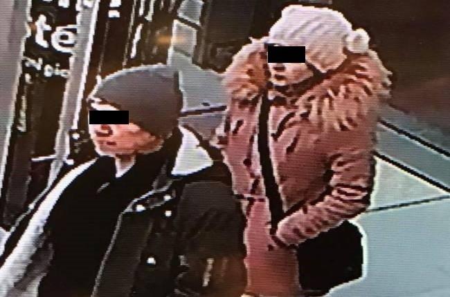 L'immagine dei ladri postata su Facebook