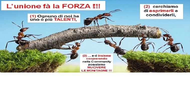 TALENTI UNIAMOCI !!!