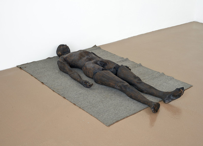 Paloma Varga Weisz Lying Man (Uomo disteso) 2014