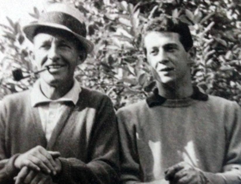 Memo con Bing Crosby