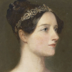 Ada Lovelace ritratta da Carpenter