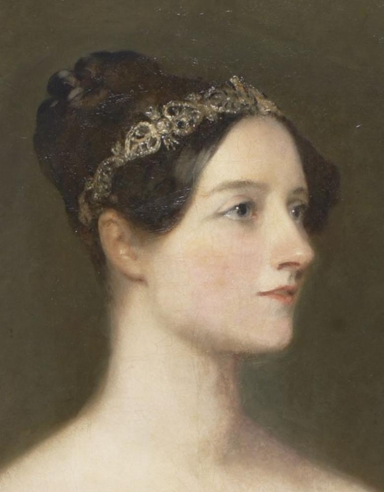Ada Lovelace ritratta da Carpenter