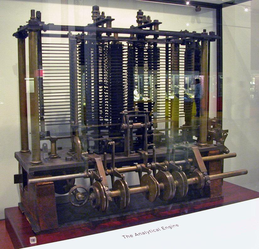 Analytical Machine di Chares Babbage