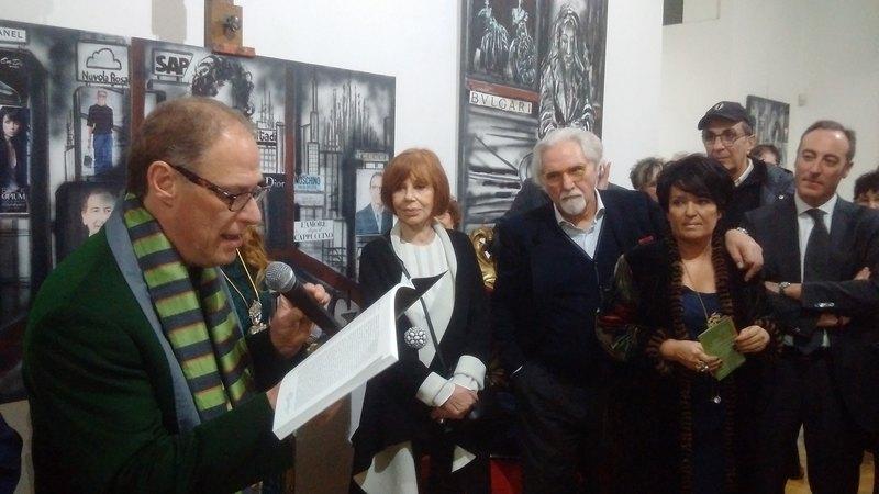 La mostra svoltasi  nel mese di febbraio alla Casa Museale  Spazio Tadini