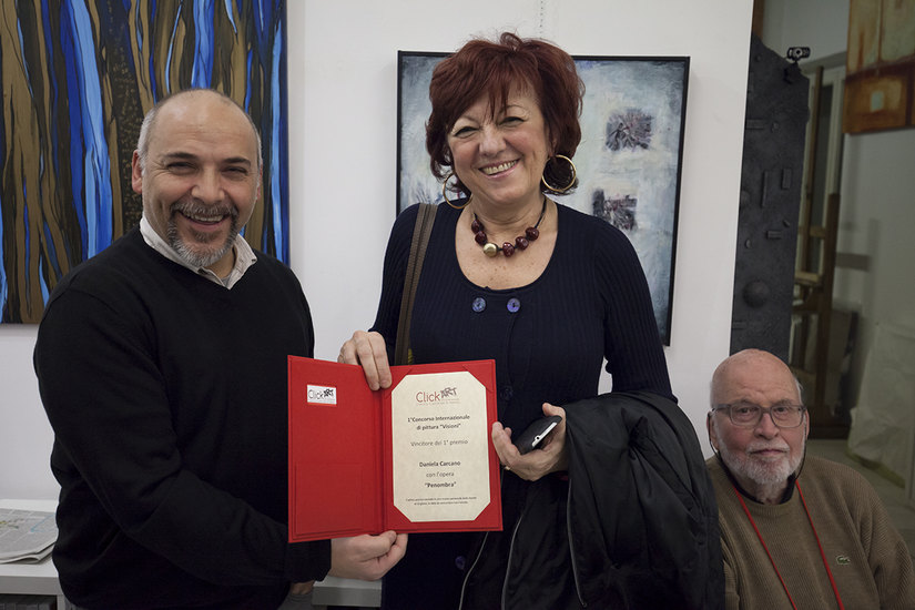 Daniela Carcano, vincitrice del primo premio