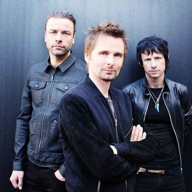 Matthew Bellamy, Chris Wolstenholme e Dominic Howard