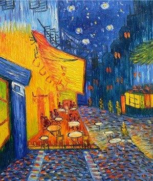 Terrazza Del Caffè Alla Sera Bis Vincent Van Gogh J