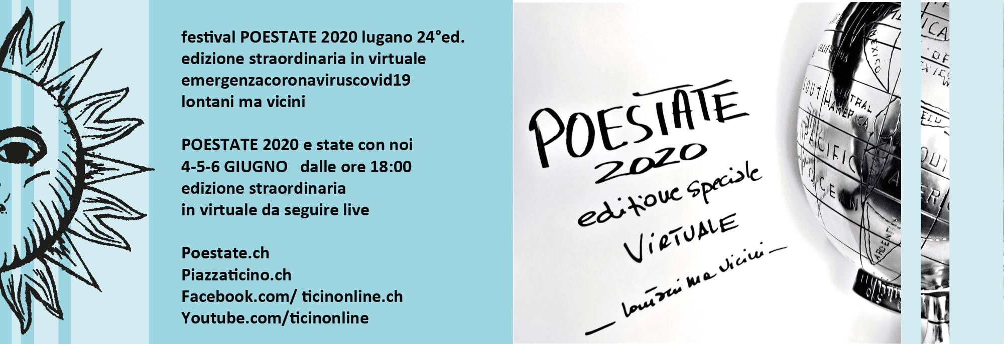 in virtuale POESTATE 2020