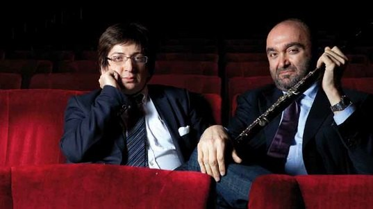 Ramin Bahrami e Massimo Mercelli