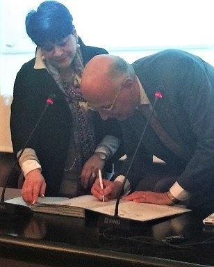 Il Presidente ALDAI Federmanager firma il protocollo