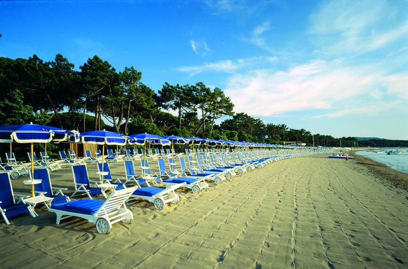 La spiaggia di Punta Ala.