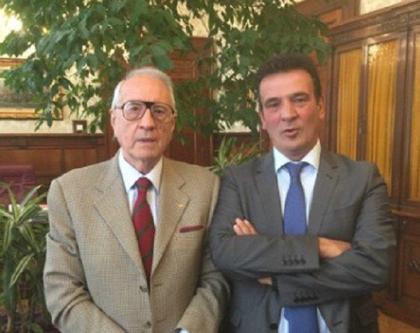 Gianni Fossati e Giuseppe Sopranzetti Dir Banca D'Italia Milano - Lombardia