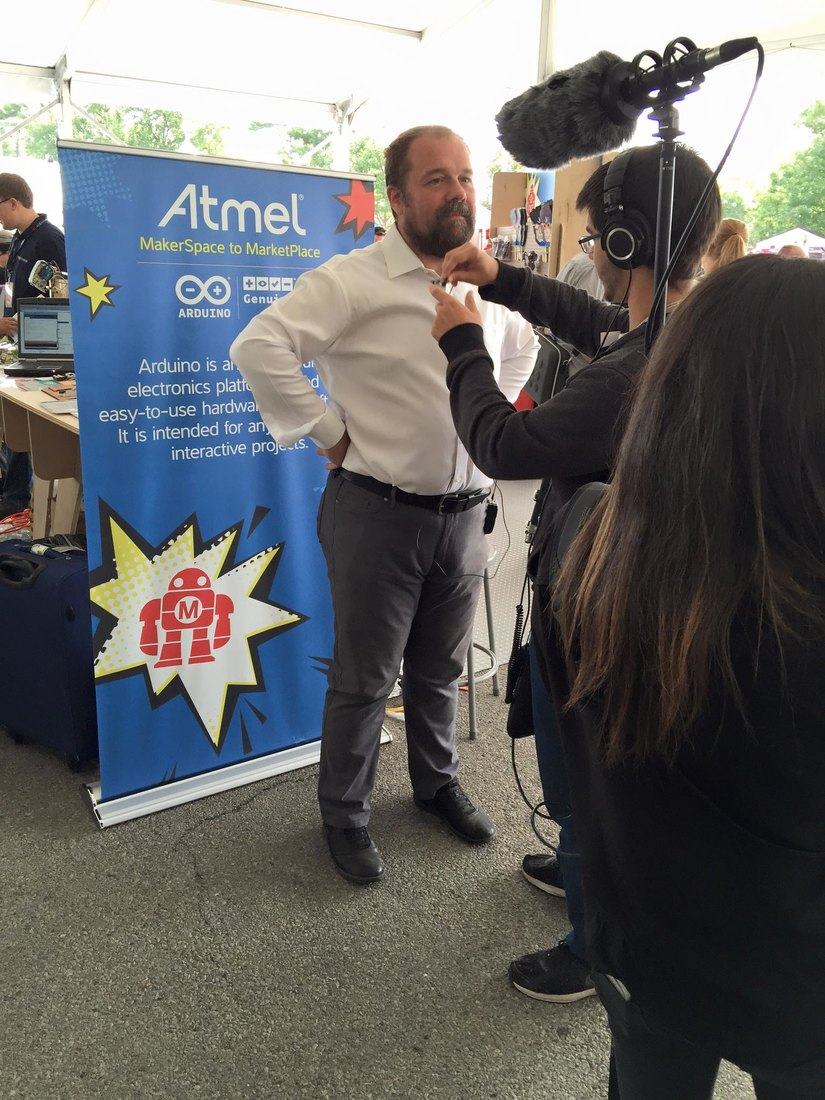 Massimo Banzi@World Maker Faire 2015