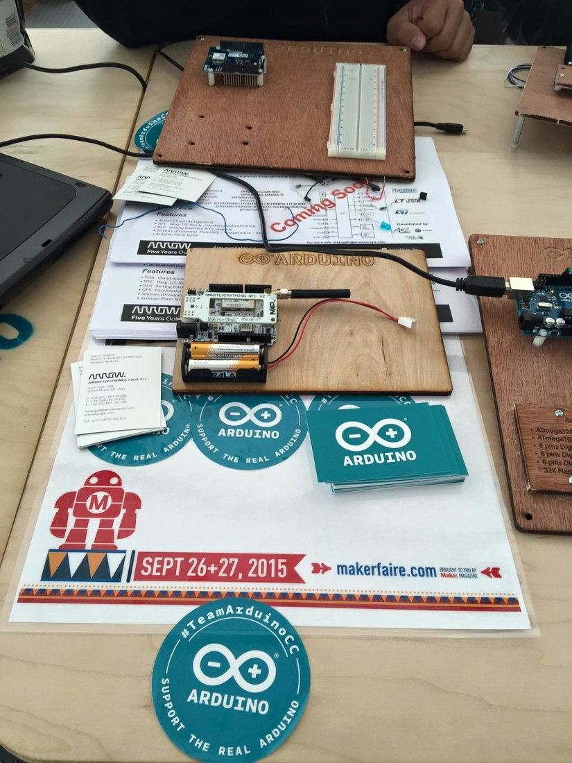 SmartEverything@World Maker Faire 2015