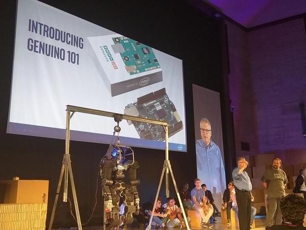 Josh Walden (Intel) e Massio Banzi presentano Genuino 101