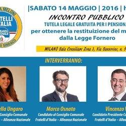 Incontro Pubblico con Fratelli d'Italia