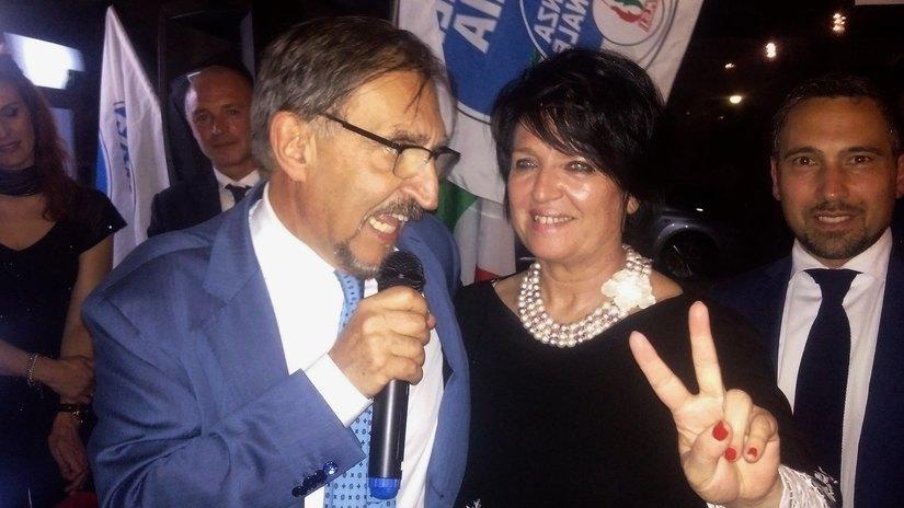 Ignazio La Russa e Carla Bruschi