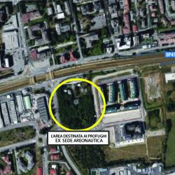 Bellaria, il luogo dove è previsto il centro profughi
