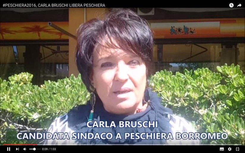 Carla Bruschi libera Peschiera
