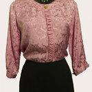 Camicia rosa in pura seta italiana
