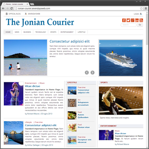 The Jonian Courier