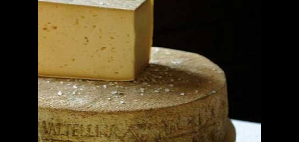 Casera Cheese from Valtellina