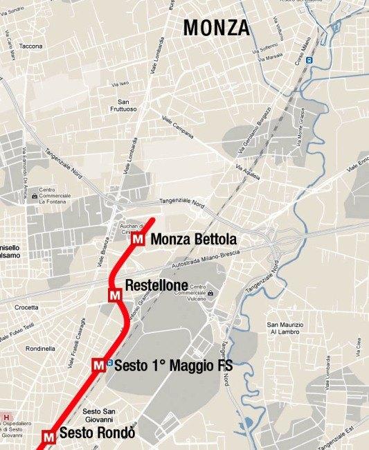 Metropolitana milanese: raggiunto l\'accordo per prolungare la linea ...