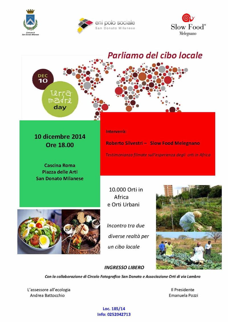 Terra Madre Day 2014