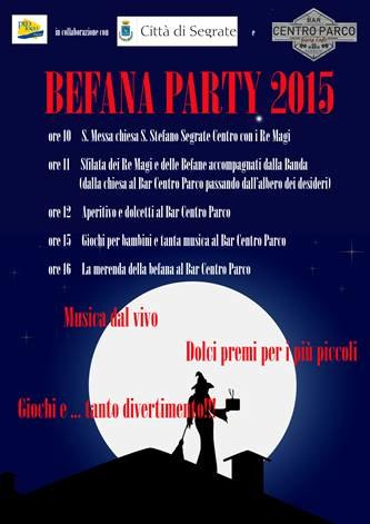 Befana Party a Segrate