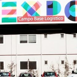 L'ex campo base di Expo