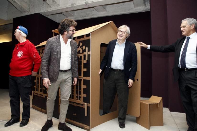 Le incredibili case di cartone di shigeru ban chometemporary