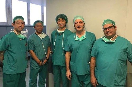 Donna ADULTA Er Chirurgo Scrubs Costume Dottore Ospedale Infermiera Costume 10-24
