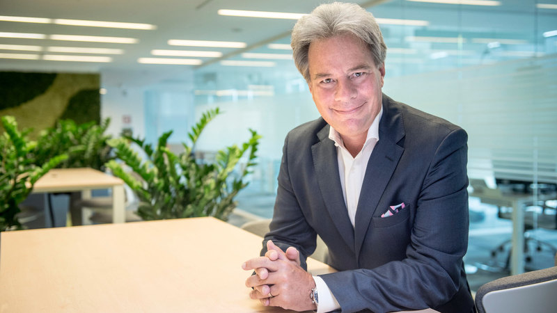 Il CEO di WindTre Jeffrey Hedberg