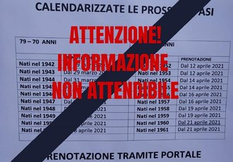 Il calendario fasullo